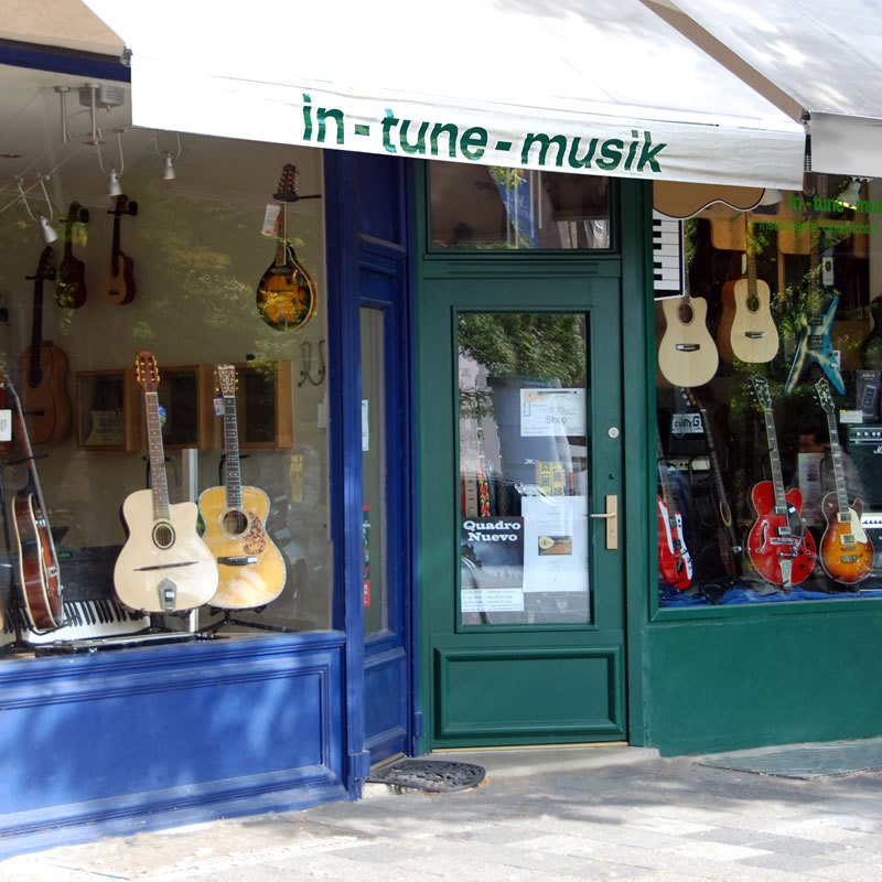 In-Tune Musik Münster - Ladenlokal